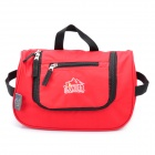 Multi-Function Waterproof Traveling Wash Gargle Bag - Red