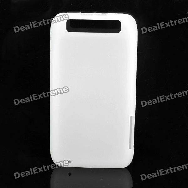 Protective Silicone Case Cover for Motorola MT917 - White