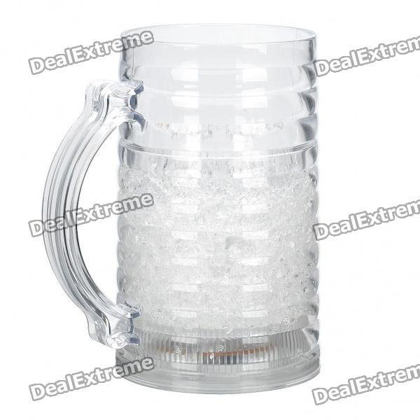 Cool Ice Mug with 6-LED Colorful Lights (350ml / 3 x LR44)