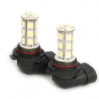 9006 3.5W 18-SMD LED 216LM 6000-6500K White Light Front Fog Lamp (Pair/DC 12V)