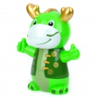 Cute Dragon Plastic Coin Bank (Random Color)