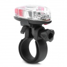 Mini 4-LED 3-Mode Bike Tail Safety / Helmet Light (2 x CR2032)