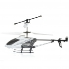 Rechargeable 3-CH R/C Helicopter w/ 300KP Camera & Gyroscope - White (TF Slot)