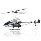 Rechargeable 3-CH R/C Helicopter w/ 300KP Camera & Gyroscope - Silver (TF Slot)