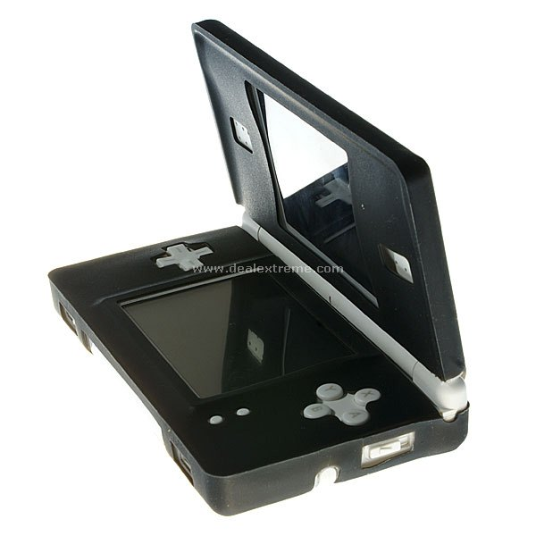 NDS Lite Silicon Case Black