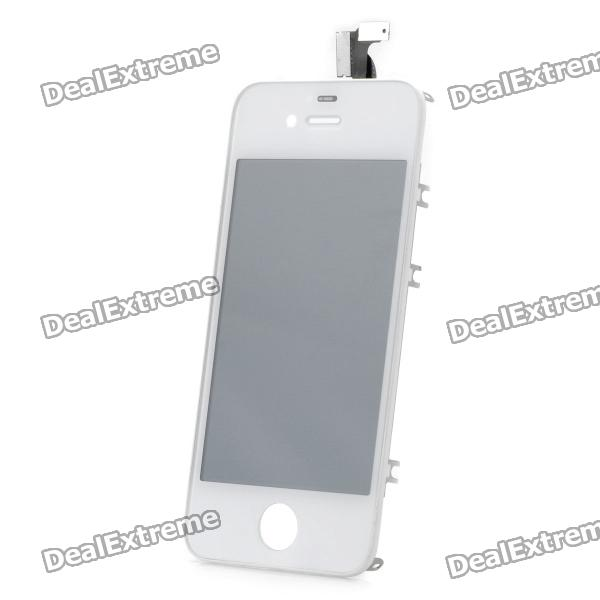 Replacement Touch Screen Digitizer LCD Module w/ Disassembly Tools Kit for iPhone 4S - White