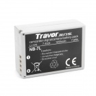 TRAVOR Replacement NB-7L 7.4V 1050mAh Battery for Canon PowerShot G10 / G11