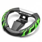 Flame Racing Wheel Controller for Sony PS3 - Black + Green