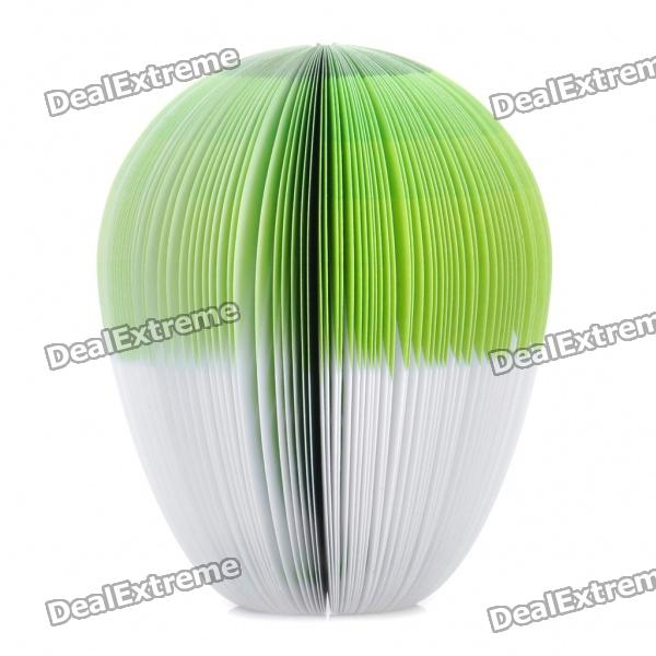 Creative Chinese Cabbage Style Memo Pad (About 150-Page) 140 page note paper creative fruit design