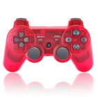Designer Rechargeable Bluetooth Wireless DoubleShock SIXAXIS Controller für PS3 - Transparent Red