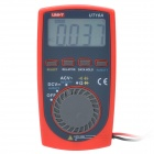 "UNI-T UT10A 1.8"" LCD Digital Multimeter - Red + Black (1 x CR2032)"