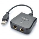 USB Microphone Audio Adapter for PS2 / PS3 / PC / Wii / Xbox 360