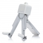 Universal Folding Zinc Alloy Stand Holder Support for iPhone / iPod / Cell Phone / Camera - White