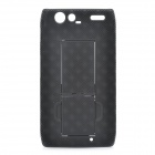 NILLKIN Protective Back Case w/ Screen Guard & Cleaning Cloth for Motorola RAZR XT910 - Black