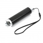 1W 3-Mode 1-White / 6-Red LED Flashlight - Black(3 x AAA)