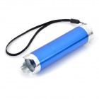 1W 3-Mode 1-White / 6-Red LED Flashlight - Blue (3 x AAA)