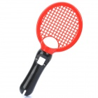 Plastic Tennis Racket for PS3 Move - Red + Black
