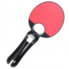 Table Tennis Racket Bat Game Accessories for PS3 Move Controller - Black + Red