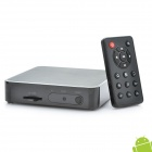 1080P Full HD Android 2.3 Media Player with SD / LAN / HDMI / 4-USB / AV OUT - Black (4GB)