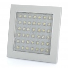Square Shaped 3.5W 350-400LM 5500-6500K 42-LED White Light Embedded Ceiling Light Lamp (100~250V)