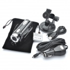 Handheld/Car Mounted 5.0MP Digital Video Camcorder w/ 4X Digital Zoom / TV-Out / SD Slot (3&quot; LCD)