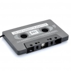 Car Cassette Tape Adapter Transmitters for MP3 / CD / DVD Player - Black