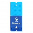 Подлинная Kingston DataTraveler Mini Fun USB 2.0 Flash Drive - Deep Blue + Голубой (4 Гб)