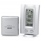 "2.6"" LCD Digital Weather Forecast Indoor/Outdoor Thermometer (2xAAA + 3xAAA)"