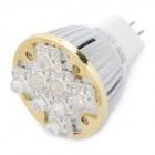 MR16 1.5W 3500K 140-Lumen 8-LED Warm White Light Bulb (AC 220V)