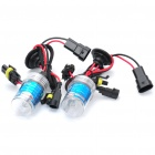 9006 35W 6000K 3600-Lumen White Light HID Headlamps Set (9~16V / Pair)