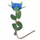 Romantic Plastic Blue Rose / Blue Enchantress Style Light (3 x LR44)