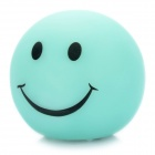 Cute Smile Face Style Color Changing Night Light Lamp - Light Blue (3 x AG13)