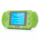 "2.7"" LCD Portable 8-bit Game Console w/ Built-in Games / TV-Out / Game Cartridge - Green"