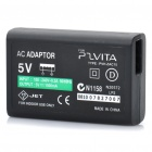Replacement Power Adapter for Sony PS Vita (AC 100~240V / 2-Flat-Pin Plug)