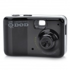 The World's Smallest Rechargeable Car DVR Camcorder with Mini USB / TF Slot - Black