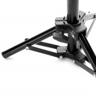 Portable Folding Photo Studio Tripod Light Stand - Black