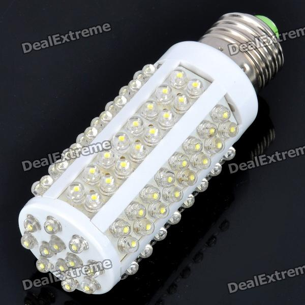 E27 6W 650LM 6500K 108x3528 SMD LED White Corn Light Bulb (220V)
