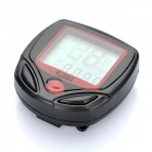 "1.3"" LCD Electronic Bicycle Waterproof Speedometer - Black (1 x AG13)"