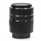 Auto Focus Macro Extension Tube Set for Nikon - Black
