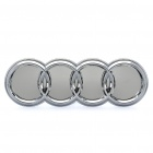 Auto Car 3D Audi Logo Badge 45-SMD 3528 LED 27LM Blue Light Sticker (DC 12~14V)