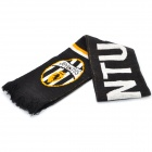 Football / Soccer Team Emblem Fabric Acrylic Fibers Scarf - Juventus