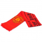 Football / Soccer Team Emblem Acrylic Fibers Scarf - Man Utd.