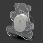 Cute Cartoon Bear Style Decorative LED Light with Multi-Color Changing & Suction Cup (2 x CR2032)