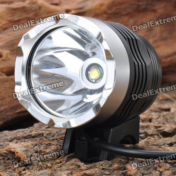 3-Mode 500-Lumen LED Yellow Light Headlamp/Bike Light Set (4 x 18650)
