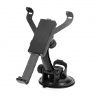 Car Windshield Swivel Mount Holder for Ipad / GPS / Tablet - Black