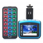 "1,7 ""LCD Car MP3/MP4 Player FM Transmitter w / Fernbedienung / USB / TF (DC 12V)"