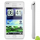 "i9100 Android 4.0 WCDMA TV Smartphone w/ 4.1"" Capacitive Screen, Dual SIM, Wi-Fi and GPS - White"