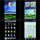 "i9100 Android 4.0 WCDMA TV Smartphone w / 4.1"" écran capacitif, Dual SIM, WiFi et GPS - blanc"