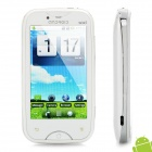 "A6000 Android 2.2 Music Phone w/ 3.2"" Resistive, GSM Quadband, Dual SIM, Wi-Fi and TV - White"