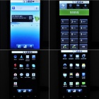 "HP381 android 2.2 WCDMA smartphone w / 3.8"" capacitif, double sim, wi-fi et GPS - noir"